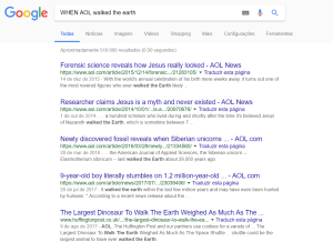 WHEN AOL walked the earth Pesquisa Google